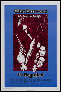"""The Beguiled (Universal, 1971). One Sheet (27"""" X 41""""). Western. Starring Clint Eastwood, Geraldine Page, Eliza..."""