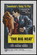 "Movie Posters:Film Noir, The Big Heat (Columbia, R-1959). One Sheet (27"" X 41""). Film Noir. Starring Glenn Ford, Gloria Grahame, Jocelyn Brando, and ..."