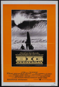 """Big Wednesday (Warner Brothers, 1978). One Sheet (27"""" X 41""""). Surf Movie. Starring Jan-Michael Vincent, Willia..."""