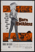 "Movie Posters:Bad Girl, Born Reckless (Warner Brothers, 1959). One Sheet (27"" X 41""). BadGirl. Starring Mamie Van Doren, Jeff Richards, Arthur Hunn..."