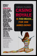 "Movie Posters:James Bond, Casino Royale (Columbia, 1967). One Sheet (27"" X 41""). Action Comedy. Starring Peter Sellers, Ursula Andress, David Niven, O..."