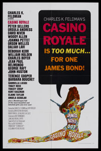"Casino Royale (Columbia, 1967). One Sheet (27"" X 41""). Action Comedy. Starring Peter Sellers, Ursula Andress..."