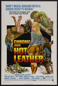 "Movie Posters:Action, Chrome and Hot Leather (American International Pictures, 1971). OneSheet (27"" X 41""). Biker Action. Starring William Smith,..."