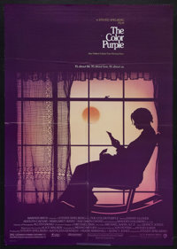 """The Color Purple (Warner Brothers, 1985). One Sheet (27"""" X 41""""). Drama. Starring Danny Glover, Whoopi Goldberg..."""
