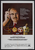 """Movie Posters:Crime, The Conversation (Paramount, 1974). One Sheet (27"""" X 41"""").Thriller. Starring Gene Hackman, John Cazale, Cindy Williams,and..."""