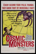 "Movie Posters:Science Fiction, Cosmic Monsters (DCA, 1958). One Sheet (27"" X 41""). Sci-Fi Horror.Starring Forrest Tucker, Gaby Andre, Martin Benson, Alec ..."