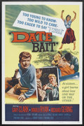 "Movie Posters:Bad Girl, Date Bait (Film Group, Inc., 1960). One Sheet (27"" X 41"").Exploitation. Starring Danny Logan, Sue Randall, Marlo Ryan,Rich..."