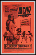 "Movie Posters:Bad Girl, Delinquent School Girls (Rainbow Releasing, 1975). One Sheet (27"" X41""). Bad Girl. Starring Michael Pataki, Bob Minor and S..."