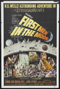 "Movie Posters:Science Fiction, First Men in the Moon (Columbia, 1964). One Sheet (27"" X 41"").Science Fiction. Based on an H.G. Wells story, this film is f..."