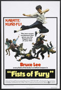 """Movie Posters:Action, Fists of Fury (National General, 1973). One Sheet (27"""" X 41"""").Action Thriller. Starring Bruce Lee, Maria Yi, James Tien, Yi..."""