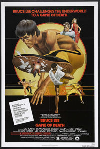 "Game of Death (Columbia, 1978). One Sheet (27"" X 41""). Martial Arts. Starring Bruce Lee, Gig Young, Dean Jagge..."
