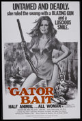 """Movie Posters:Action, Gator Bait (Dimension Pictures, 1974). Poster (40"""" X 60""""). Exploitation Drama. Starring Claudia Jennings and Sam Gilman. Dir..."""