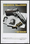 """Movie Posters:Action, The Getaway (Warner Brothers, 1972). One Sheet (27"""" X 41""""). Action.Starring Steve McQueen, Ali MacGraw, Ben Johnson and Sal..."""