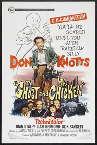 """The Ghost and Mr. Chicken (Universal, 1966). One Sheet (27"""" X 41""""). Comedy. Starring Don Knotts, Joan Staley..."""
