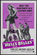 "Movie Posters:Action, Hell's Belles (American International, 1969). One Sheet (27"" X41""). Biker Action. Starring Jeremy Slate, Adam Roarke, Jocel..."