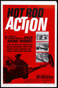 "Movie Posters:Documentary, Hot Rod Action (Cinerama Releasing, 1969). One Sheet (27"" X 41""). Car Racing Documentary. Starring The Drivers of Daytona, B..."