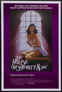 """The House on Sorority Row (Artists Releasing Corporation, 1982). One Sheet (27"""" X 41""""). Horror. Starring Kathr..."""