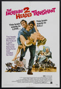 """Movie Posters:Horror, The Incredible 2-Headed Transplant (AIP, 1971). One Sheet (27"""" X41""""). Sci/Fi/Horror. Starring Bruce Dern, Pat Priest, Casey..."""