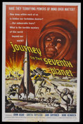 "Movie Posters:Science Fiction, Journey to the Seventh Planet (American International, 1962). OneSheet (27"" X 41""). Sci-Fi/Horror. Starring John Agar, Gret..."