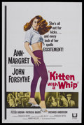 "Movie Posters:Bad Girl, Kitten with a Whip (Universal, 1964). One Sheet (27"" X 41"").Juvenile Delinquent. Starring Ann-Margret, John Forsythe, Peter..."