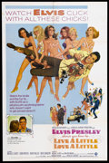 """Movie Posters:Elvis Presley, Live a Little, Love a Little (MGM, 1968). One Sheet (27"""" X 41"""").Rock Musical Comedy. Starring Elvis Presley, Michele Carey,..."""