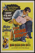 "Movie Posters:Film Noir, The Long Wait (United Artists, 1954). One Sheet (27"" X 41""). FilmNoir. Starring Anthony Quinn, Charles Coburn and Gene Evan..."