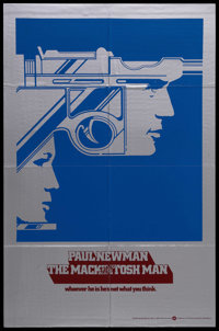 """The Mackintosh Man (Warner Brothers, 1973). One Sheet (27"""" X 41"""") Advance. Thriller. Starring Paul Newman, Dom..."""