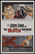 """Movie Posters:Comedy, The Nutty Professor (Paramount, 1963). One Sheet (27"""" X 41""""). Comedy. Starring Jerry Lewis, Stella Stevens, Del Moore and Ka..."""
