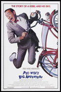 "Movie Posters:Comedy, Pee-Wee's Big Adventure (Warner Brothers, 1985). One Sheet (27"" X41""). Comedy. Starring Paul Reubens, Elizabeth Daily and D..."