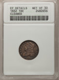 Bust Dimes, 1832 10C --Cleaned--ANACS. EF Details Net VF30. NGC Census:(3/241). PCGS Population (9/267). Mintage: 522,500. Numismedia W...
