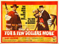 "Movie Posters:Western, For a Few Dollars More (United Artists, 1967). British Quad (30"" X40"").. ..."
