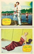"Movie Posters:Film Noir, The Lady From Shanghai (Columbia, 1947). Lobby Cards (2) (11"" X14"").. ... (Total: 2 Items)"