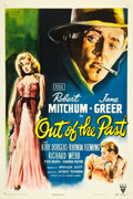 """Movie Posters:Film Noir, Out of the Past (RKO, 1947). One Sheet (27"""" X 41"""").. ..."""