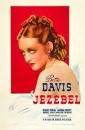 "Movie Posters:Drama, Jezebel (Warner Brothers, 1938). One Sheet (27"" X 41"").. ..."