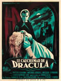 "Movie Posters:Horror, Horror of Dracula (Universal International, 1958). French Grande (47"" X 63"").. ..."