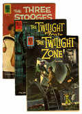 Silver Age (1956-1969):Horror, Twilight Zone/Three Stooges Group (Dell, 1961-62) Condition:Average VG.... (Total: 6 Comic Books)