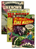 Silver Age (1956-1969):Miscellaneous, DC Silver Age Group (DC, 1959-60) Condition: Average VG-....(Total: 3 Comic Books)