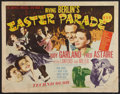 "Movie Posters:Musical, Easter Parade (MGM, 1948). Half Sheet (22"" X 28""). Style B. Musical.. ..."
