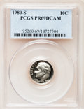 Proof Roosevelt Dimes: , 1980-S 10C PR69 Deep Cameo PCGS. PCGS Population (4851/162). NGCCensus: (408/50). Numismedia Wsl. Price for problem free ...