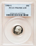 Proof Roosevelt Dimes: , 1980-S 10C PR69 Deep Cameo PCGS. PCGS Population (4835/160). NGCCensus: (402/50). Numismedia Wsl. Price for problem free ...