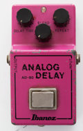 Musical Instruments:Amplifiers, PA, & Effects, 1981 Ibanez AD80 Analog Delay Pedal, #139668....