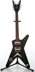 "Musical Instruments:Electric Guitars, Dean DBD T Flying ""V"" Black Electric Guitar, #0541719...."
