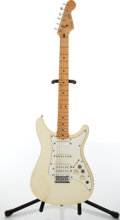 Musical Instruments:Electric Guitars, 1980s Fender Lead Olympic White Electric Guitar, #E101421....