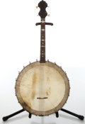 Musical Instruments:Banjos, Mandolins, & Ukes, 1930s No Name Tenor 4-String Banjo....
