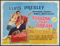 "Movie Posters:Elvis Presley, Follow That Dream (United Artists, 1962). British Quad (30"" X 40"").Elvis Presley.. ..."