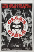 "Movie Posters:Sexploitation, Olga's Girls (AFDC, 1964). One Sheet (27"" X 41""). Sexploitation....."