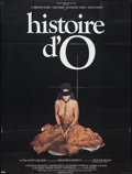 "Movie Posters:Sexploitation, The Story of O (Allied Artists, 1976). French Grande (47"" X 63"").Sexploitation.. ..."
