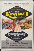 "Movie Posters:Musical, The King and I (20th Century Fox, 1956). One Sheet (27"" X 41"") and Lobby Card (11"" X 14""). Musical.. ... (Total: 2 Items)"