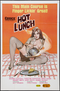 """Hot Lunch (Essex, 1978). One Sheet (25"""" X 39""""). Adult"""