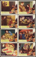 "Movie Posters:Film Noir, Raw Deal (Eagle Lion, 1948). Lobby Card Set of 8 (11"" X 14""). FilmNoir.. ... (Total: 8 Items)"